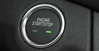 Кнопка для запуска двигателя (бесключевой запуск смарт-ключем)