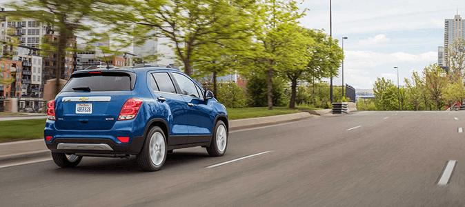 Chevrolet TRACKER 2017 Вид сзади