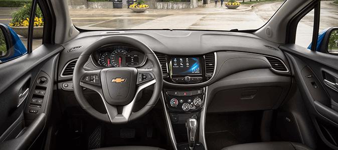 Chevrolet TRACKER 2017 Интерьер